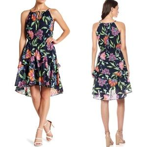Just Taylor summer floral frock dress NWT 10